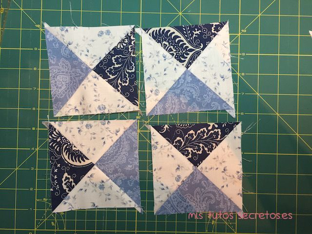 Tutorial Estrella de Ohio en Patchwork 10