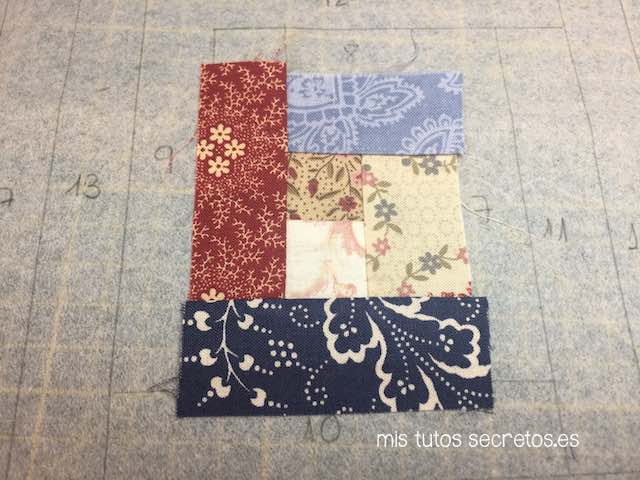 Log Cabin Patchwork 10