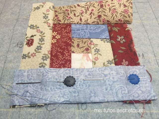Log Cabin Patchwork 11