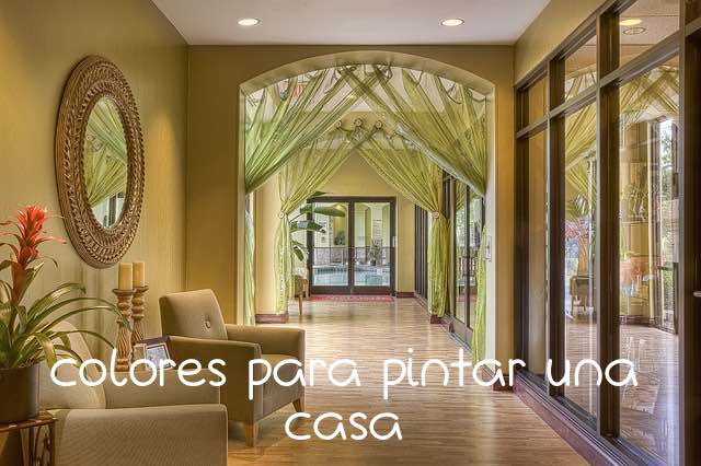 Colores pintar casa interior affordable interior design for Ideas para pintar casa interior