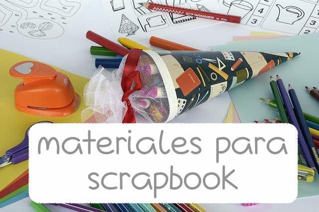 Material de Scrapbook