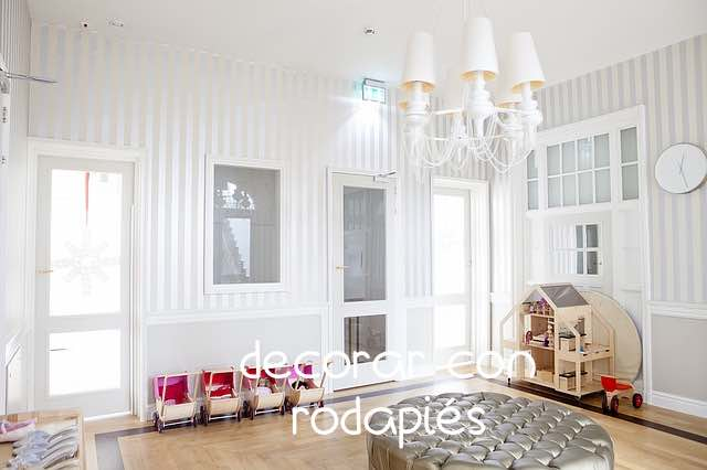 Decorar con rodapiés