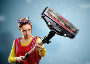 Get rid of those dangerous dust bunnies with professional cleaning by Misty Clean!