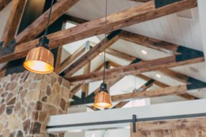 How often do you clean the light fixtures in your home?