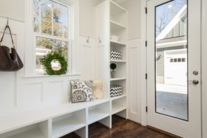 Winter is here! Keep your entryway or mudroom looking tidy all season.