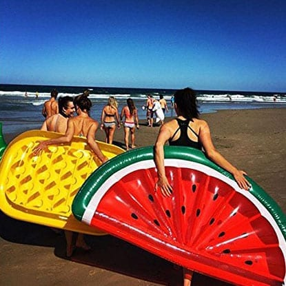 Inflatable Pool Float  Watermelon Float  Misty Daydream
