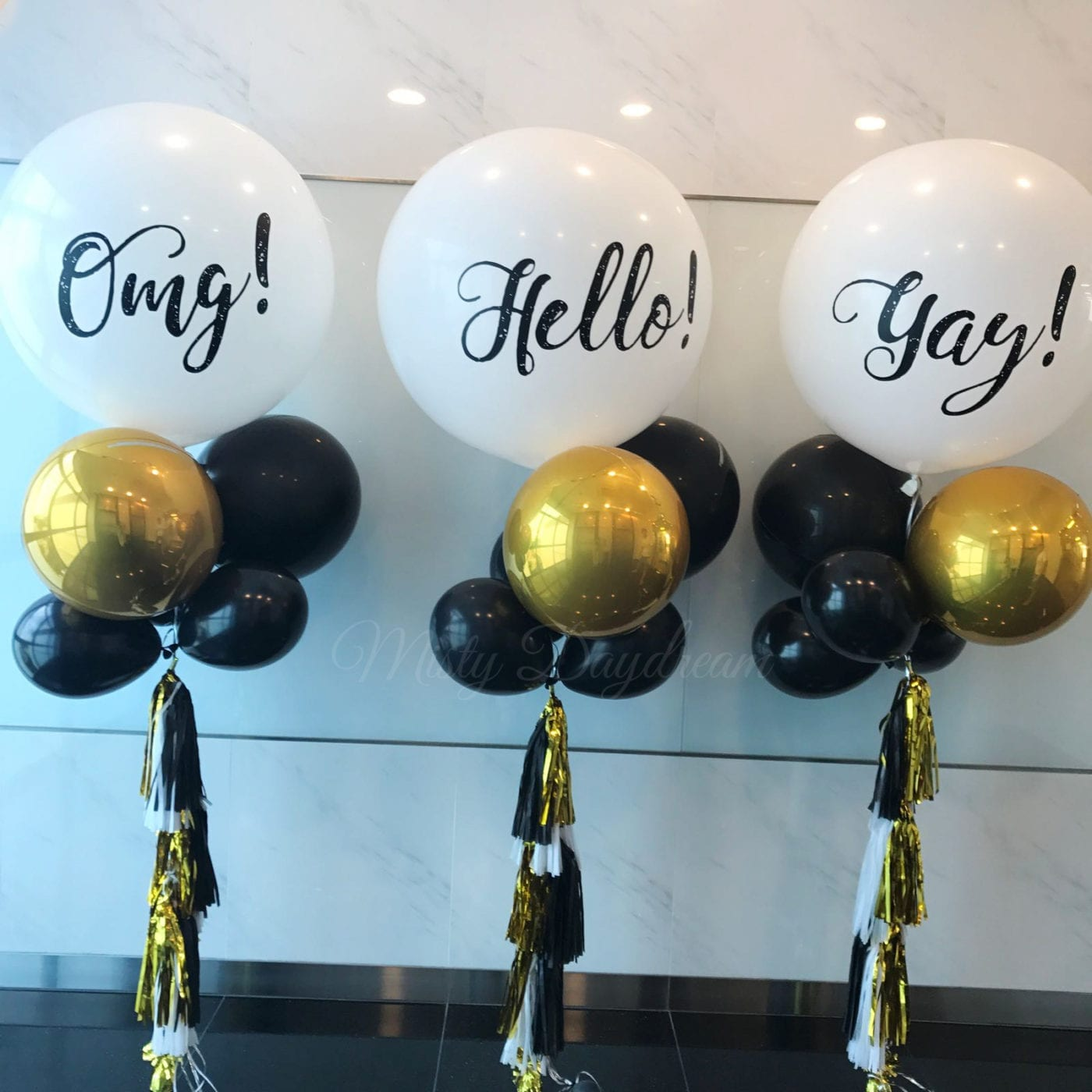 Premium Helium Inflated Balloons  Personalized Plain