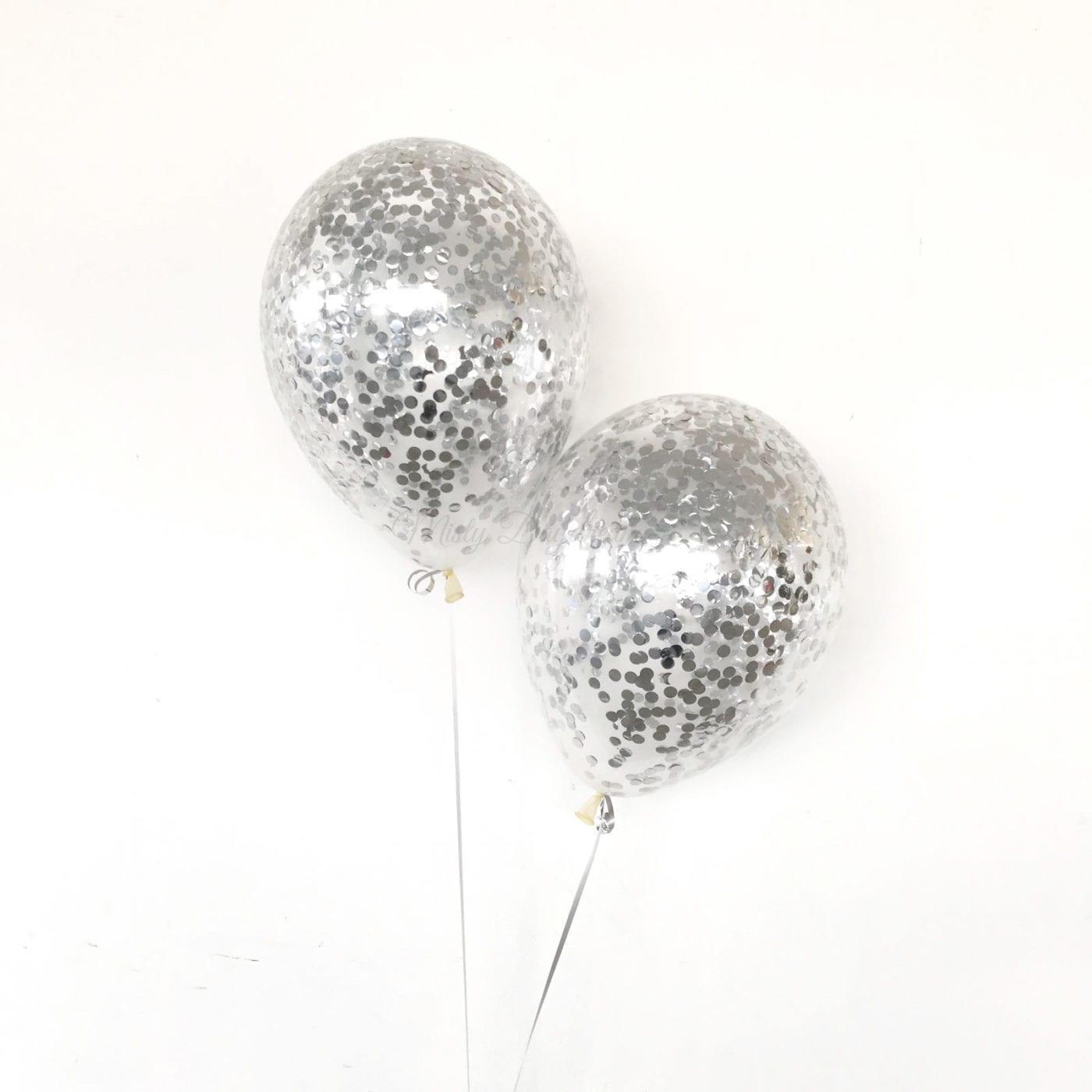 baby pool chair beach brands [helium inflated balloons] - 12 inch, 1cm confetti latex balloons metallic silver misty daydream