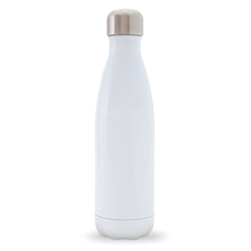 Personalised Plain Insulated Stainless Steel Bottle