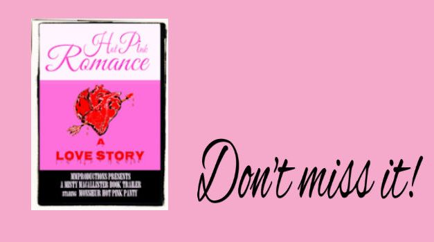 """""""Hot Pink Romance"""" book trailer a la French, ooo lala!"""