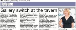 The Mercury - 16th November 2011