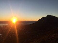 A beautiful Cape Town morning