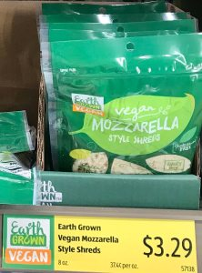 Vegan Cheese Price at Aldi 3.29