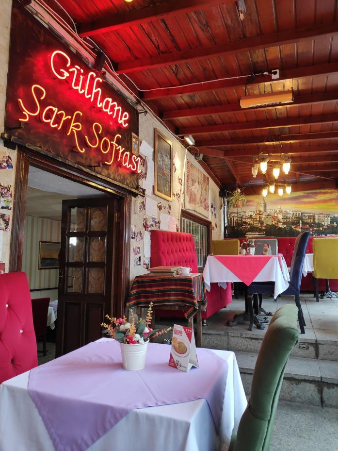 Gulhane Sark Sofrasi, restaurante de comida típica turca