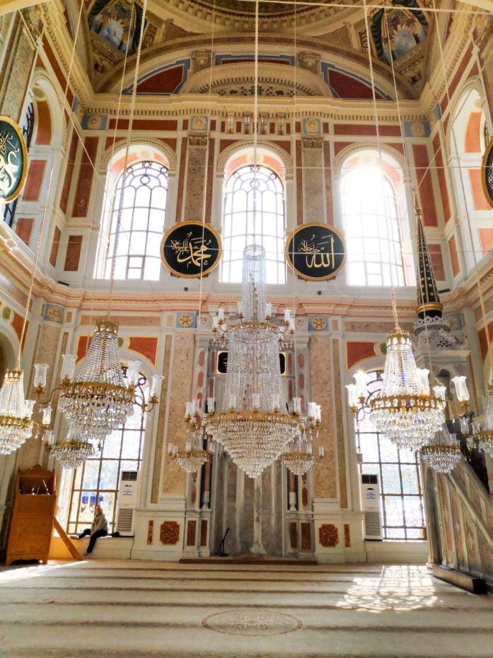 Interior Mezquita Ortaköy