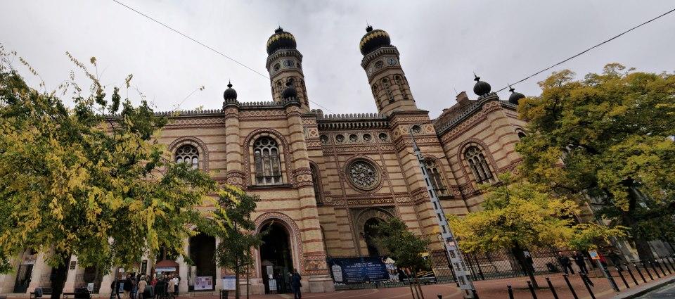 Budapest. Interior de la Gran Sinagoga