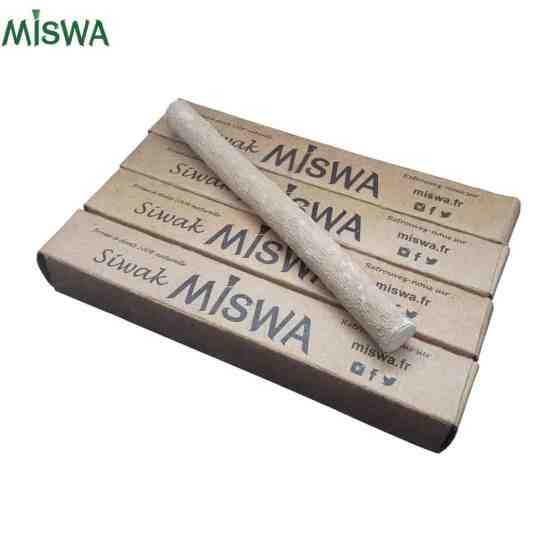 Lot de 4 siwak BIO Miswa