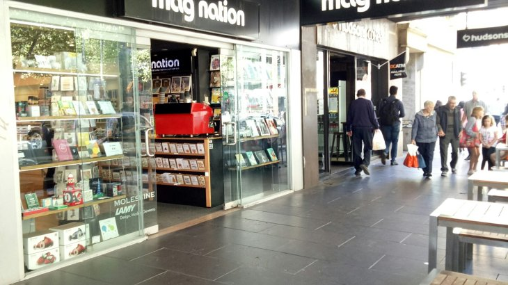 mag nation, Elizabeth street, melbourne