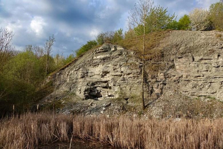 Wandern im Landkreis Ansbach rund um das Geotop Gipsbruch Endsee
