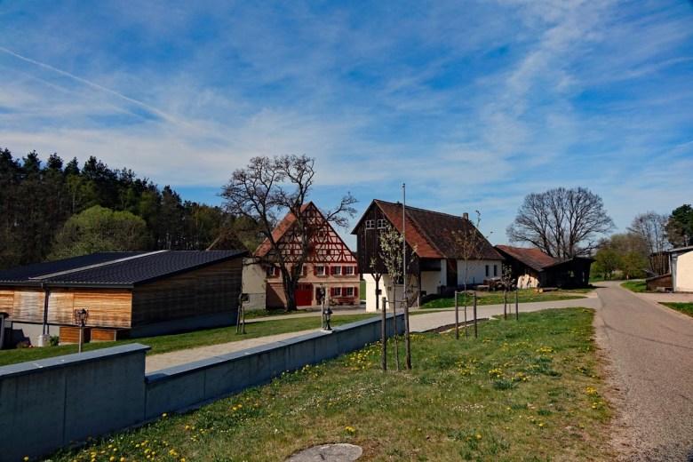 Weihersmühle auf dem Wanderweg Nr. 8 bei Hilpoltstein durch den Eibachgrund