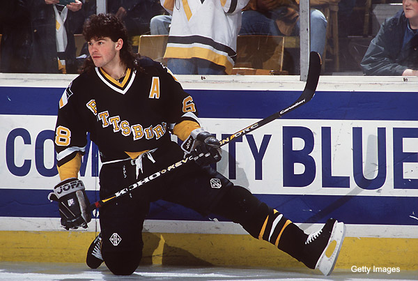 Jagr has arguably the best hair in NHL history