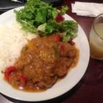La Cadena(ラ・カデナ)鶏モモ肉のロースト/チリドンソース