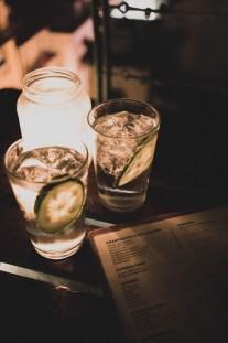 Gin Tonic in der Park Bar