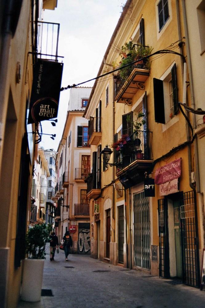 Straßen in Palma