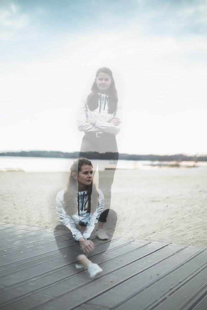 Doppelbelichtung am See
