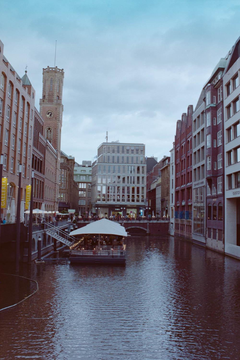 im Fleet in Hamburg