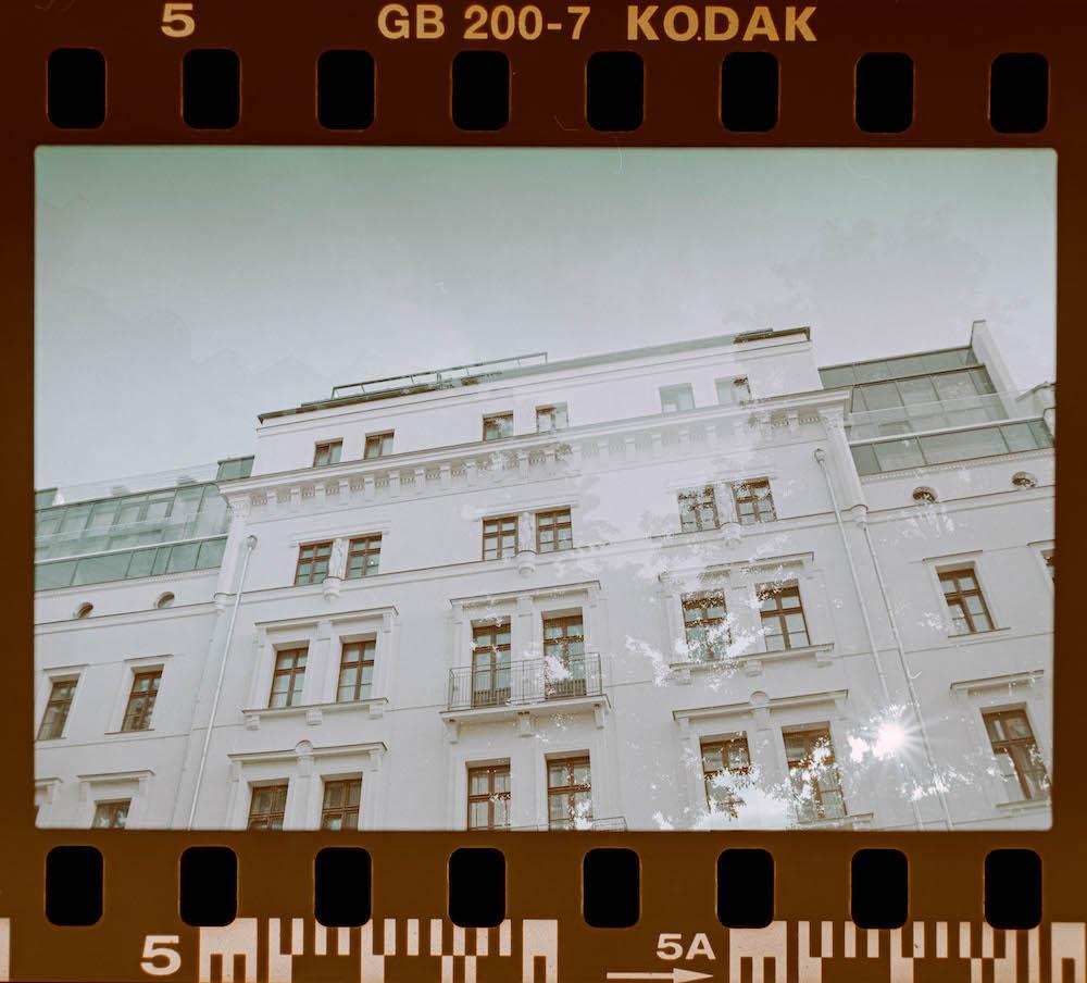Doppelbelichtung Canon EOS3