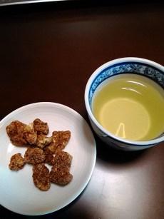 お茶と黒糖くるみ