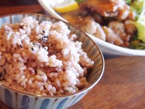 五穀米アップ