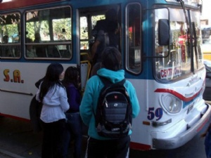 SUBE estudiantil en San Juan