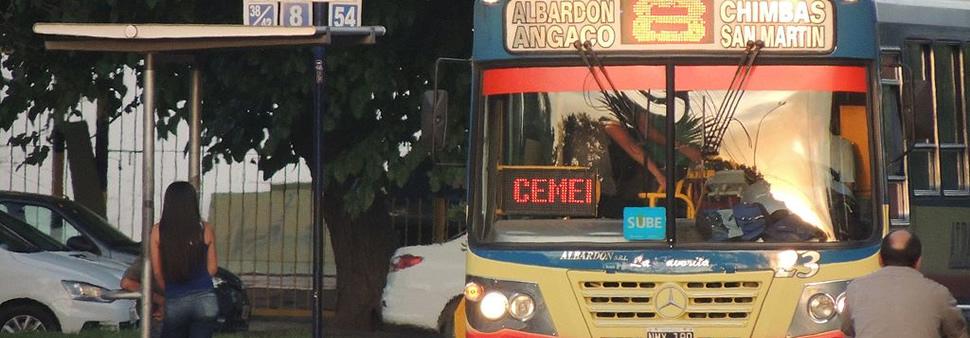 Chau boleto en San Juan : solo SUBE a partir de hoy
