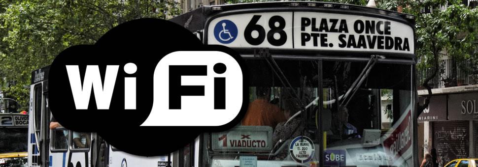 Wifi gratis en colectivos de Capital Federal y el Conurbano