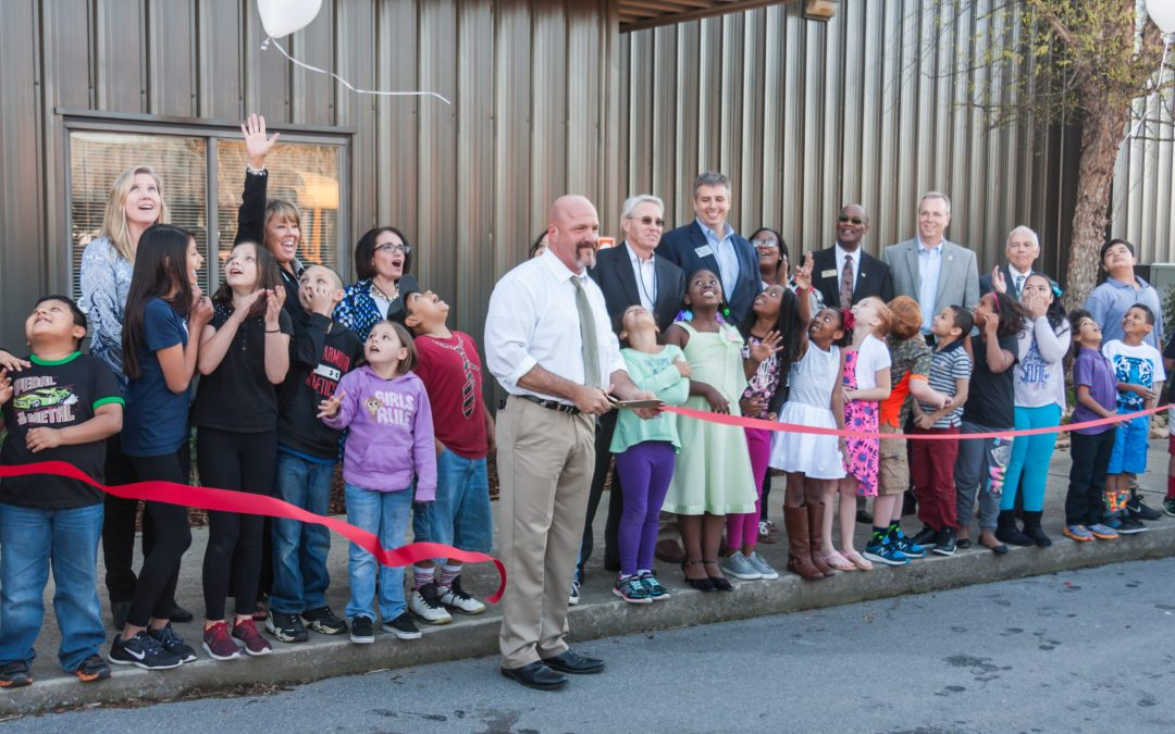 The Mitch Cox Companies Team congratulates the Coalition for Kids on its new facilities