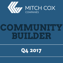 Read the Community Builder Newsletter Q4 2017