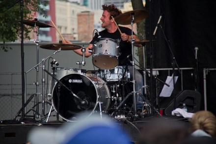 The Lawrence Arms' drummer.