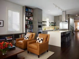 Modern Living Room Design Breaking with One Past and ...