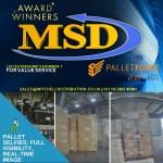 "MSD ""Pallet Selfie"" 2021 Service via Palletforce for Leicestershire businesses (read more)"