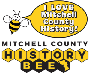 The Mitchell County History Bee Logo