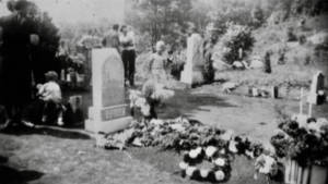 This photograph is from the Decoration Day at the Gouge Cemetery in Mitchell County in 1939.