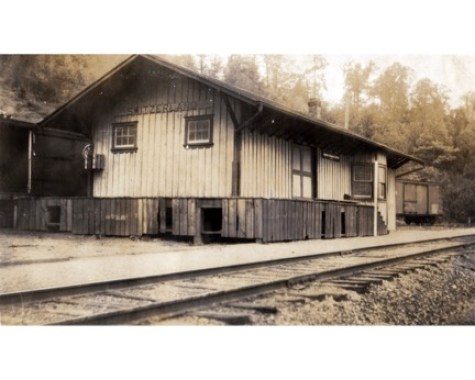Picture of the Mt. Mitchell/Switzerland Station