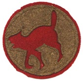 "The 321st was called the ""Wildcat"" Division as a nod to the short-tempered wildcats of the South."