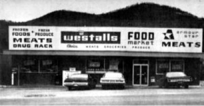 Westall's Food Market was located on, at the time US Hwy 19E, across from present day Harris Middle School.