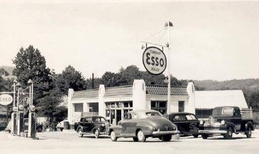 Spruce Pine Esso on the Corner of Greenwood and Highland