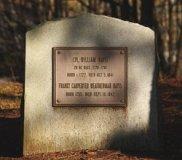Photo of WIlliam Davis' Gravestone
