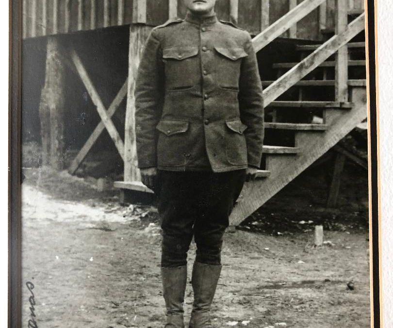 Cloyd Decatur Thomas, World War I Veteran