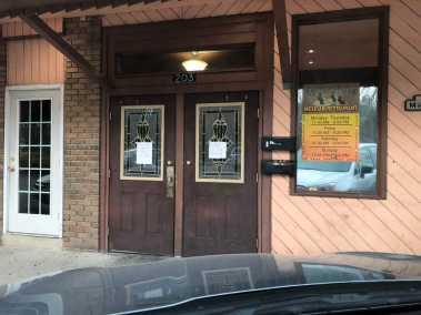 Photo of the exterior of El Ranchero Restaurant on Lwoer Street